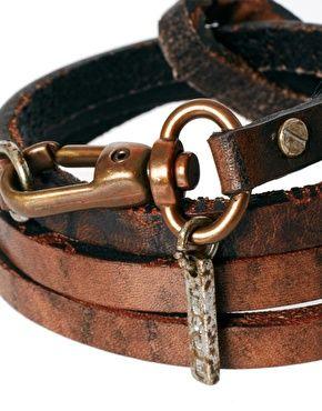Image 4 ofDiesel Leather Bracelet