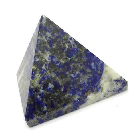 Lapis Lazuli Natural Crystal Pyramid | 45 mm base | Crystal Heart Melbourne since 1986
