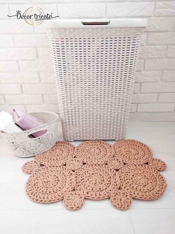 Do It Yourself Bath Mat Projects In 2020 Toilet Rug Bathroom Rug Sets Bathroom Rugs