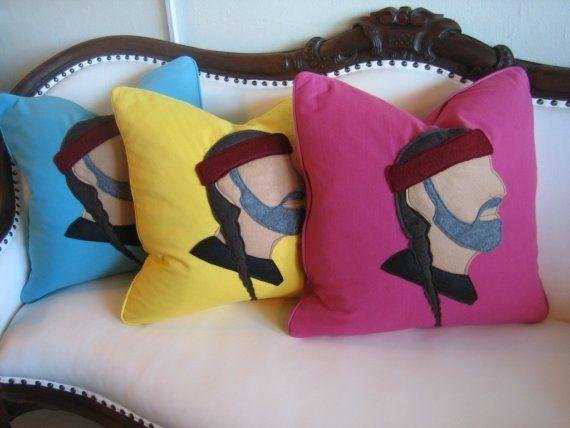 Willie Nelson pillows!
