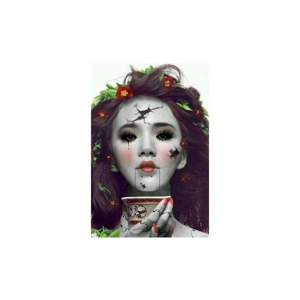 circus makeup ❤ liked on Polyvore featuring beauty products and makeup