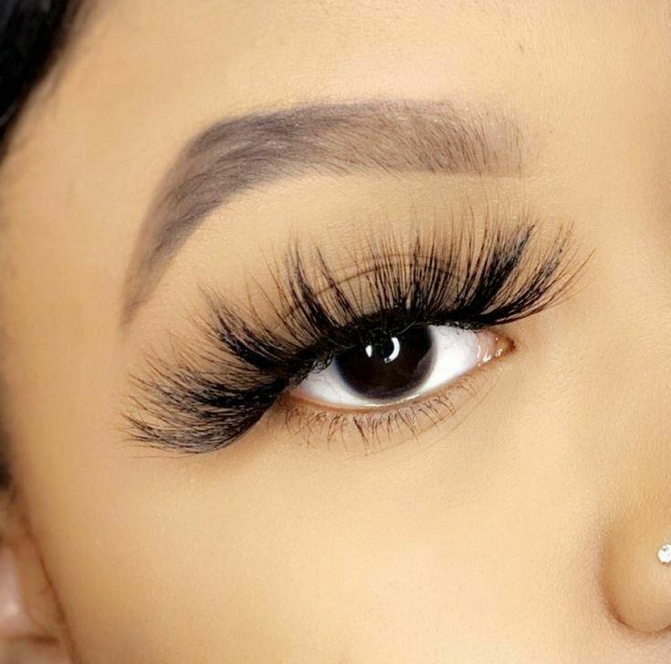 25mm Lashes Lashes Makeup Lashes Big Eyelashes