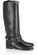 Burberry leather knee boots- these are some fine a** boots