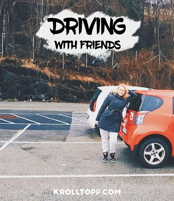 Driving with friends - Driving video - Videoblogg - Livet som Krølltopp