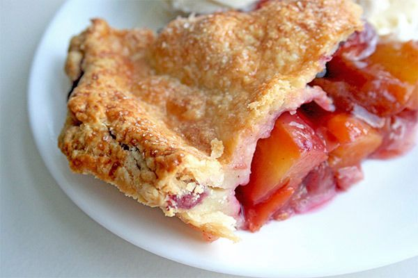 Peach Blueberry Pie | Pastry | Pinterest