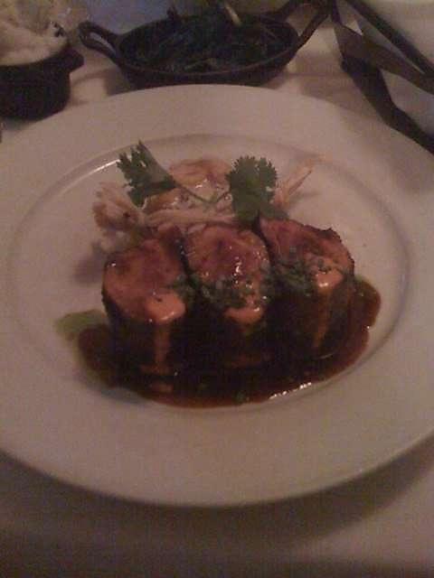 Mesa Grill NY- Pork tenderloin
