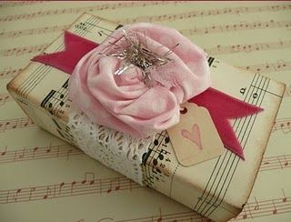 pretty: Gifts Ideas, Gifts Handmade, Pretty Gifts, Diy Gifts, Gifts Wraps, Gifts Hands, Pretty Packaging, Wraps Gifts, Wraps Ideas