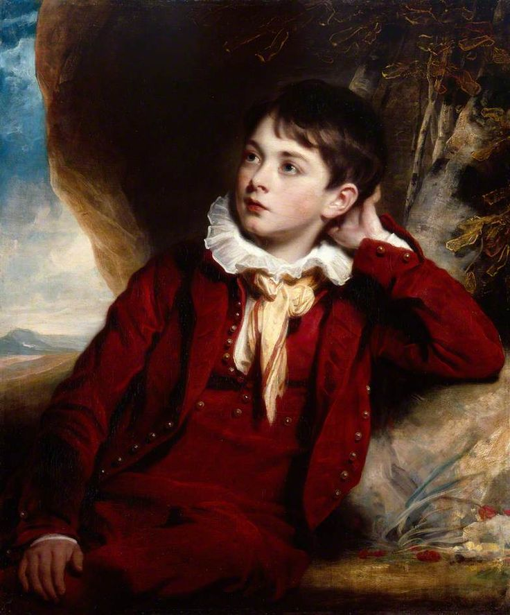The Artist's Son, William, by Martin Archer Shee, c.1820