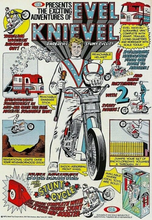 Popular Toys In 1973 : Best evel knievel toys collectibles  images