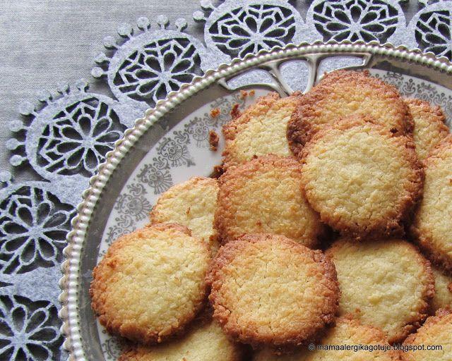 ??? Ciasteczka maślano-kokosowe (bez jajek, na maśle klarowanym)