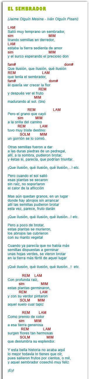 Valivan » Letras y acordes canciones La Casita Sobre La Roca