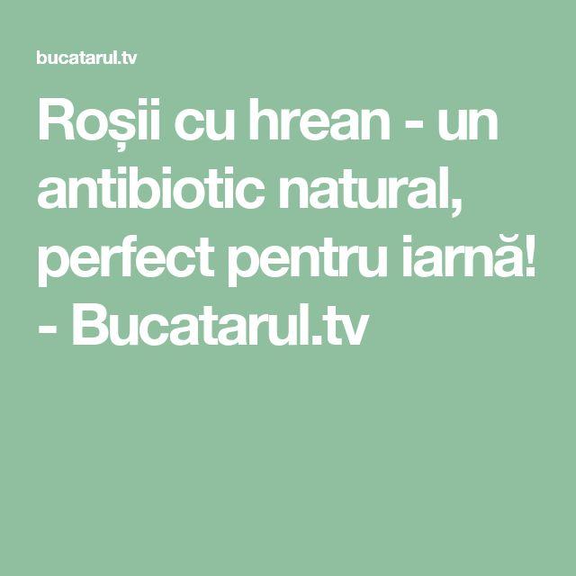 Roșii cu hrean - un antibiotic natural, perfect pentru iarnă! - Bucatarul.tv