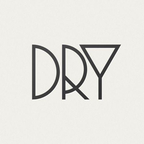 Logo/icon design for a dry martini #creative