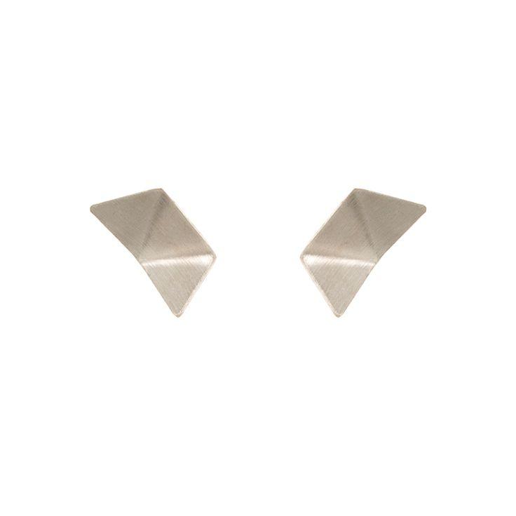 ORIGAMI / EAR / SILVER / MINI maleneglintborg.com