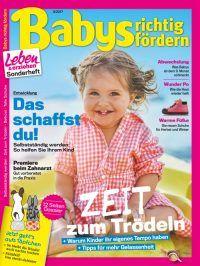 """In """"Babys richtig fördern"""": Zeit zum #Trödeln: Warum Kinder ihr eigenes Tempo haben; was ab dem 9. Monat schmeckt; wie Eltern ihrem Kind helfen, selbstständig zu werden; welche Pflege bei wundem Po hilft. Dazu das große Dossier """"Zeit fürs #Töpfchen"""" – wie Kinder ganz entspannt sauber werden. """"Babys richtig fördern"""" ab 9. August am Kiosk!  #elternratgeber #baby #ersteslebensjahr #ernährung #babypflege #babyernährung #babybrei #familientisch #globuli #bilderbücher #kinderschuhe"""
