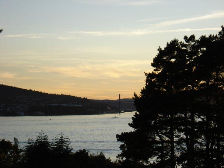 Eidangerfjorden, Norway. #sunset #summer #nature #ocean #telemark #norway