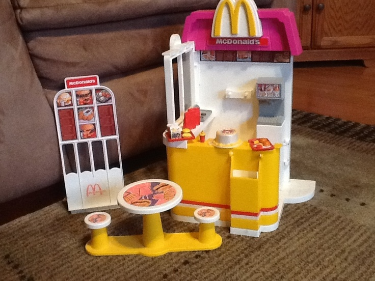Barbie Toy Food : Barbie doll mcdonalds fast food play set with ronald s