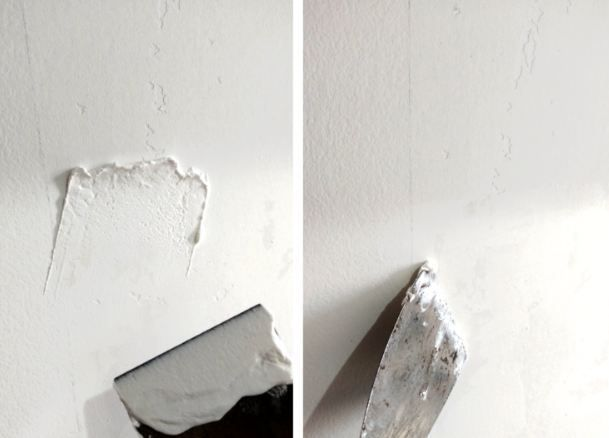 How to Fix Chipped Paint on Wall