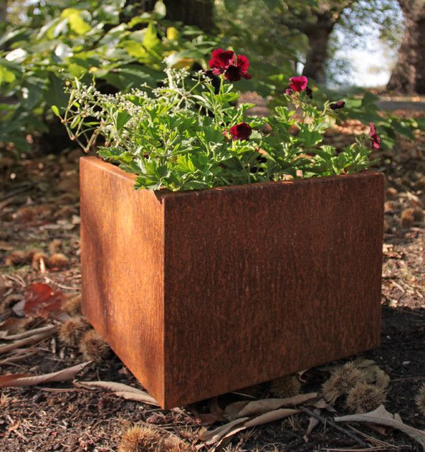 Corten Steel Garden And Landscape Planter
