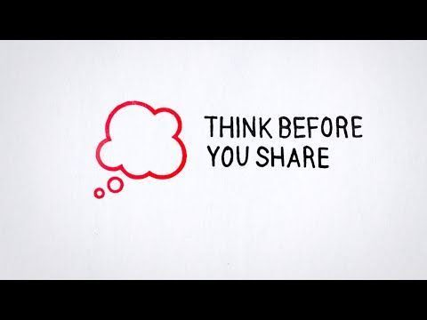 Google Online Safety Roadshow.  Tip 1: Think Before You Share - YouTube