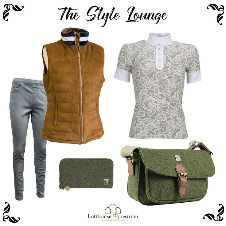 Our latest Style Lounge is now out, read all about whats got us excited this Autumn!   Autumn equestrian & country outfit inspiration   Sporting Hares   Equi-Theme   House of Tweed   Lofthouse Equestrian   Gilets   Shirts   Handbags   Purses