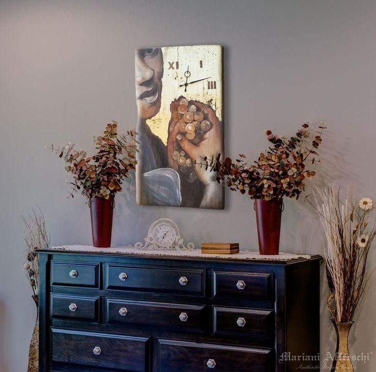 Famoso Oltre 25 fantastiche idee su Orologi in legno su Pinterest  NP78