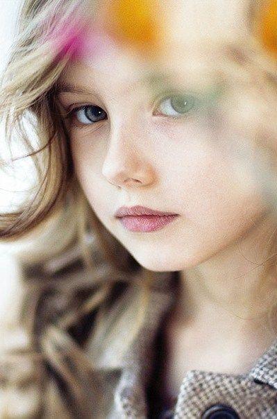Vlada Baklunova, a Russian child model.