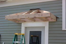 Bricks & Honey: Building the Back Door Overhang