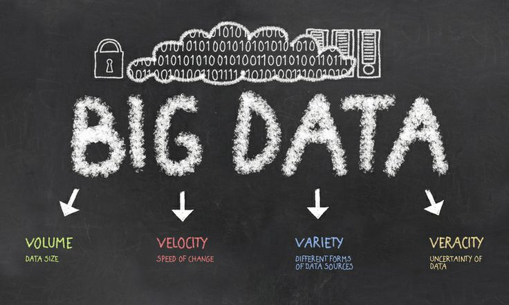 Big Data: The 5 Vs Everyone Must Know  At the beginning there was Gartner, who defined Big Data with 3 Vs: 1. Volume 2. Velocity 3. Variety   Then the issue was raised that Big Data new insights can be actually quite uncertain, and so the 4th V arrived: 4. Veracity   But all this was still leaving out the deep core, the only reason why one wants to use Big Data: 5. Value