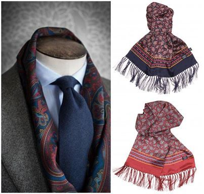 Cool and clasic Style! #tie #scarf #sut #gentlemen #guys #fashion #style