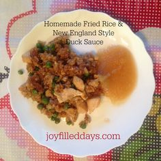 New England Style Duck Sauce Recipe: 4 ingredients.
