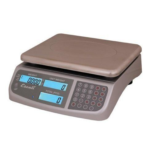66 lbs. C-Series Counting Scale by Escali. $175.00. Home Diagnostics. hodi. C6630 Features: -Escali C6630 C-Series digital counting scales a programmable user friendly, high quality counting scale that is a great scale for various inventory and quality control applications.-Capacity is 66 lbs.-Accurately measures in grams, kilograms or pounds.-Has 3 backlight displays: total weight, individual weight and quantity.-Stainless steel plate is removable for ease clean up...