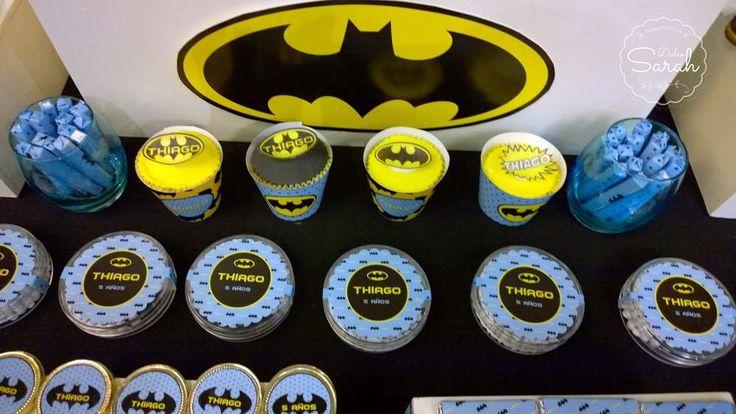 BATMAN Birthday Party Ideas   Photo 3 of 7