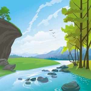 Nature-Landscapes-Vector