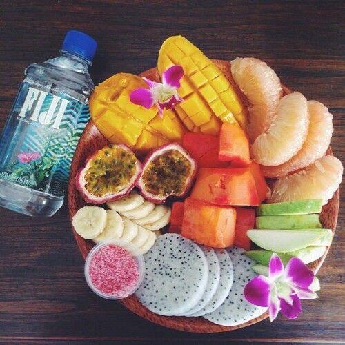 Fiji & fruit.