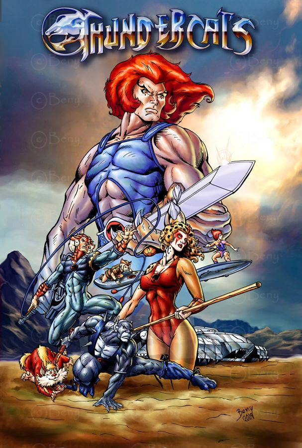 The Thundercats by ~benyhibridos