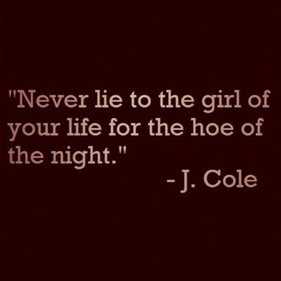 I knew I loved J Cole for a reason...