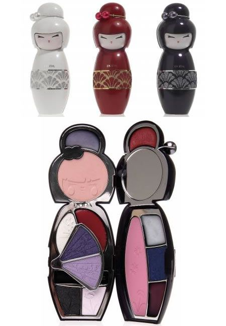 Doll up with the Pupa Kokeshi Doll Make up kit