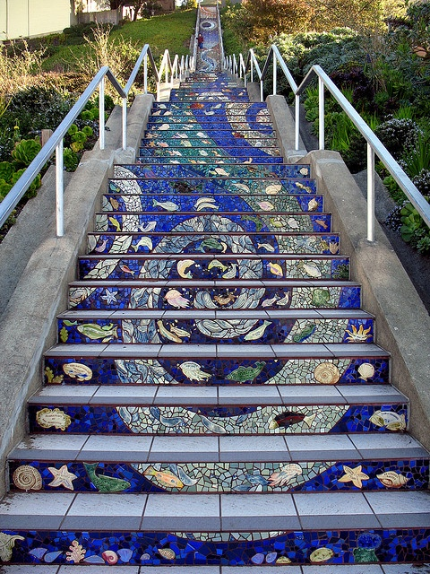 100 Ideas To Try About Street Art On Stairs
