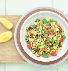 Cuscus mediterraneo con piselli e zucchine - Tutte le ricette dalla A alla Z - Cucina Naturale - Ricette, Menu, Diete