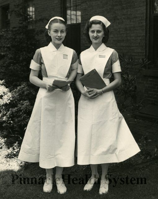 50's nurses  uniform -