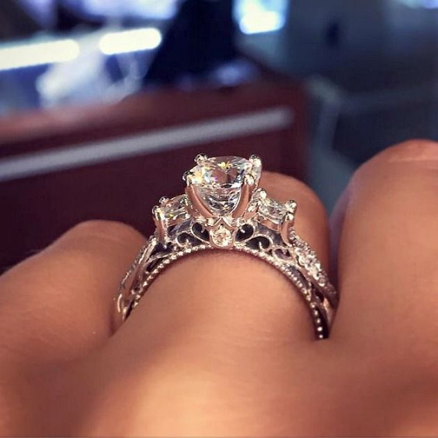 apparently this is the most pinned engagement ring on pinterest - Wedding Rings Pinterest