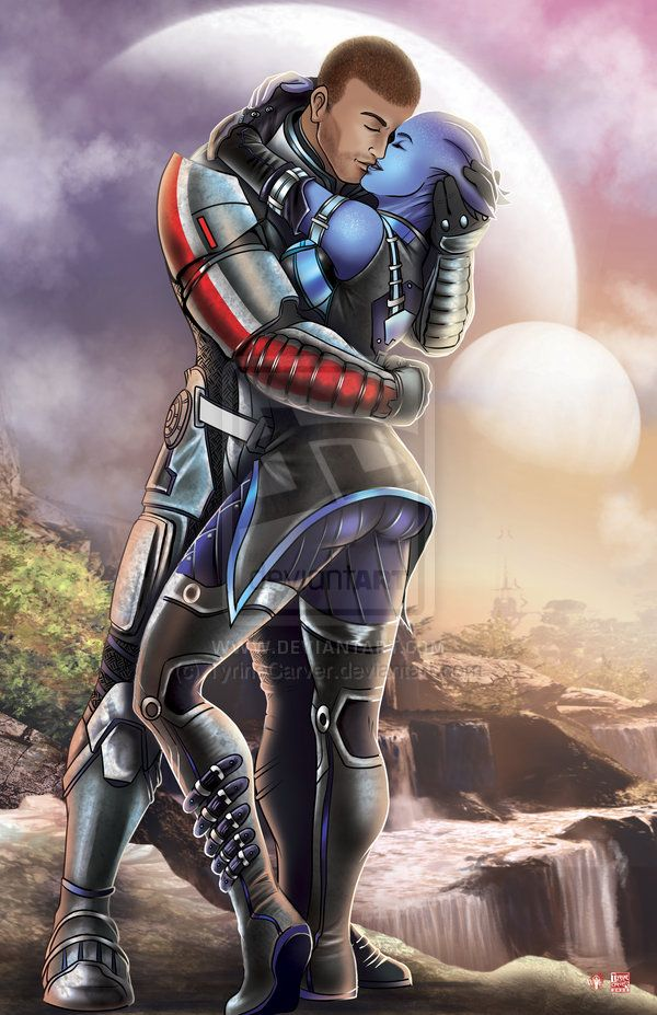 Can you hook up with liara in mass effect 2