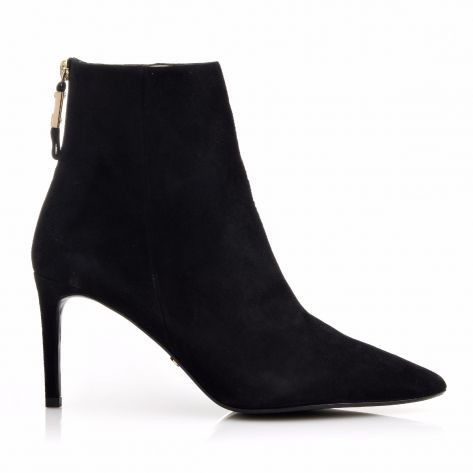ORALIA(BLACK) Dune London σε Black-Suede | NAK Shoes