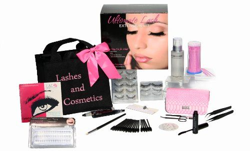 http://www.thebeautysource.info/eyelash-extension-kit-no-burn-glue-non-irritant-over-250-applications-review/ - Eyelash Extension Kit by Lashes & Cosmetics. A professional kit for the salon or the home. The eyelash extension kit...