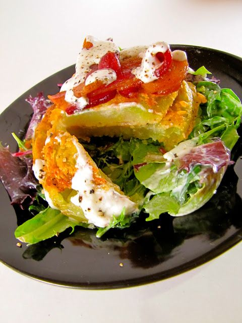 BLT Salad with Buttermilk Dressing from The Olde Pink House