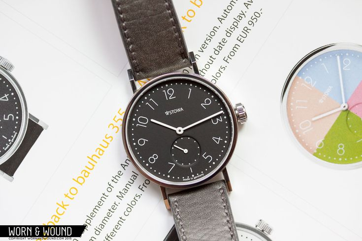 "Around this time last year, Stowa released the Antea ""back to bauhaus"" series. The ""b2b"" was an offshoot of the classic Antea line, which itself pulls inspiration from a watch Stowa first produced in the 1920s. The b2b was yet another product born of the collaboration between Stowa and famed German designer, Hartmut Esslinger, who … Continue reading Stowa Antea Back to Bauhaus Review"