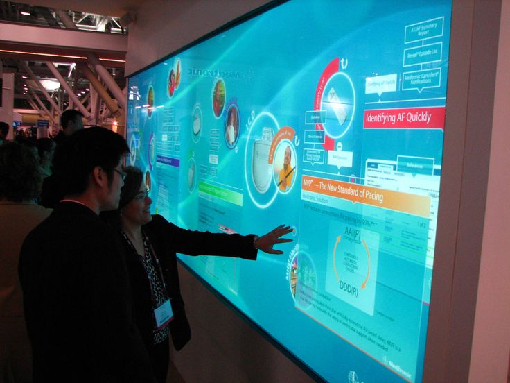 Multi- Touch Wall, Awesome Stuff good for projects perhaps movies as well
