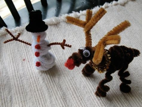 17 best images about pipe cleaner crafts on pinterest for Pipe cleaner christmas crafts