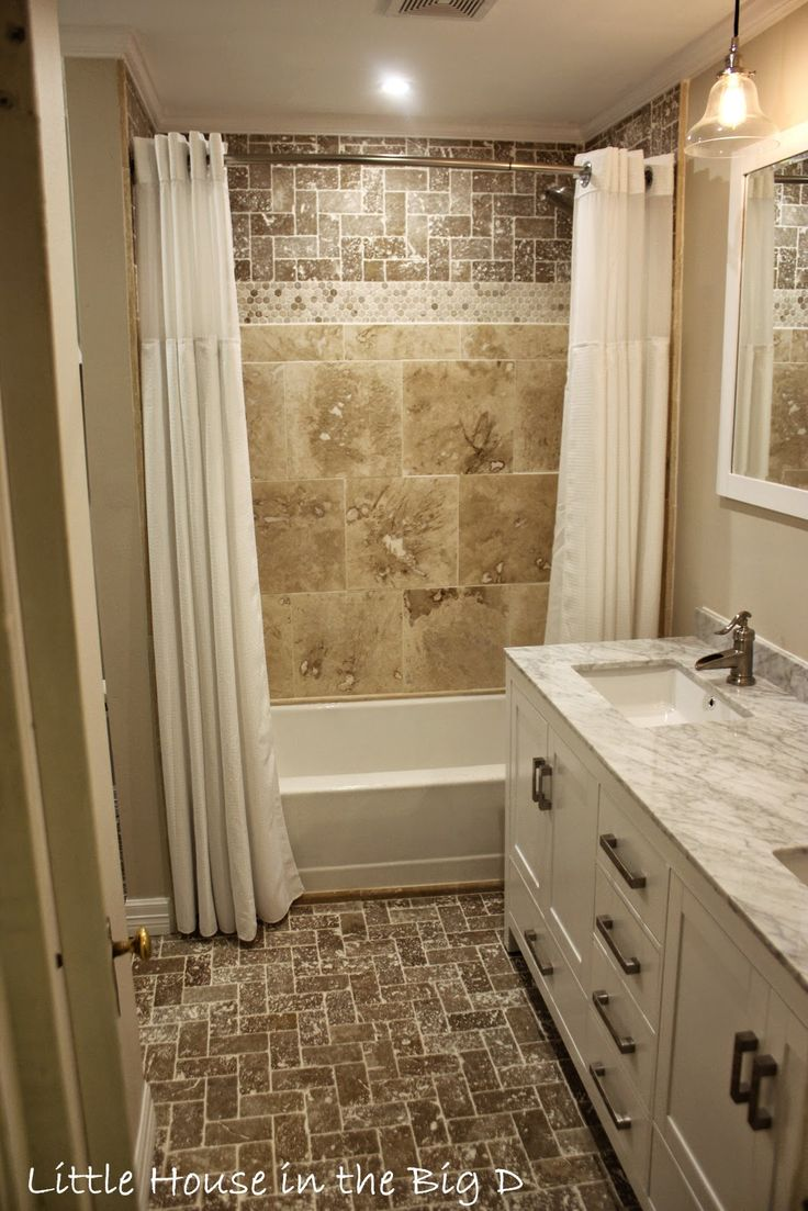 Little House in the Big D: Bathroom remodel... before and after